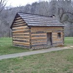  Tiny cabin at Knob Creek