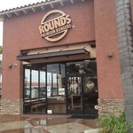Rounds Premium Burger Storefront