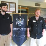 Our excellent guides at Philip Carter Winery