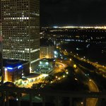 Looking east from the 29th floor at night.