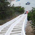  Walk to Agia Marina&#39;s Chapel, next to the beach!