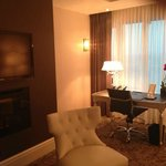  living room in our suite