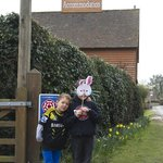 Easter at Foxes Earth - we will never forget it! Charlee & Reilly