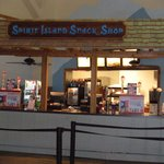 the snack shop.....food was good