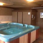 Hot tub/Sauna area