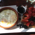  Wood-fired Eggs and Brioche French Toast