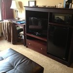  second TV and desk
