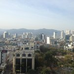 Great view of park and Daegu...