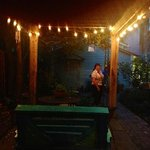  side yard at night