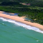  olhando assim de cima  reumente um paraiso perdido em trancoso
