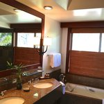 Great bathroom with separate large shower &  tub.