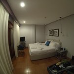  inside room - wide angle lens