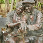 "Sculpture called ""Valentine"" by sculptor George Lundeen."