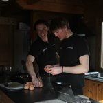  The chalet reps - good cooks!