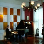 Fine classical repertoire is heard in the Antebellum Music Room at Stone House.