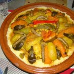 Le couscous royal de Rachida