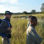 walking safari kafue np