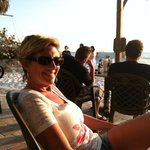  Enjoying the sunset at The Undertow