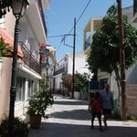  Skiathos town.