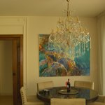  Dining room of the villa