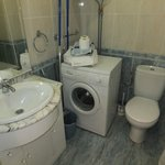  A typical bathroom in studio or 1/2 bedroom unit