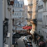  Charming street with wonderful restaurants and boutiques.