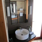 Water bungalow - His & Her sinks