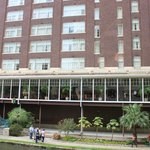  Homewood Suites, view from across the river walk