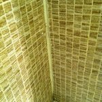  shower tiles, grouting, painting and and plumbing done by non-professionals