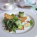  Spring greens on menu in main dining room
