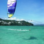  Kitesurfing at Reef Retreat