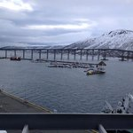 view from room 620 Rica Tromso