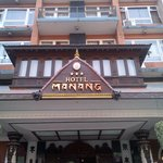  Front view of Hotel Manang