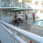  Ala Moana Motel - Pool being clean