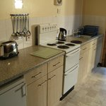  Kitchens are open plan and well equipped