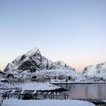 Early winter in Reine