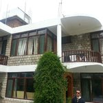  Side View. Each room with attached Balcony