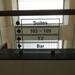 Rooms start from 2nd Floor even though numbered 101-109