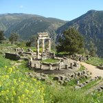Magnificent site at Delphi