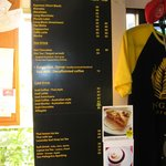  Menu/prices