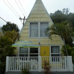 A-frame cottage