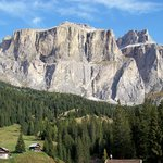 Beautiful Dolomites from our Room.....