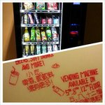 Vending machine at 3 floors