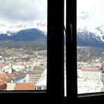  Facing the city and Alps