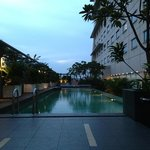 I like that the pool is temperature and ph controlled and always refresh with waterfall