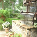  Back yard waterfall