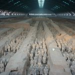 The famous Terra Cotta Warriors  you must see  them