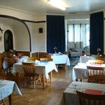 Enjoy your breakfast and evening meal in our bright and airy spacious dining room.