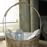  Forget me not basket