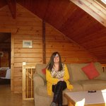 Luxury Lodges Wales (the second sitting room)